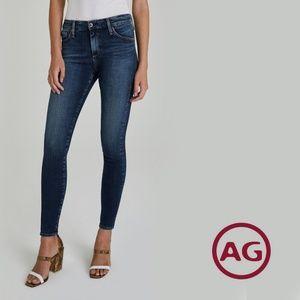 """ANTHROPOLOGIE [AG] High Rise Skinny """"Farrah"""" Jean"""